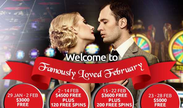More than $10 000 For You This Month of February!