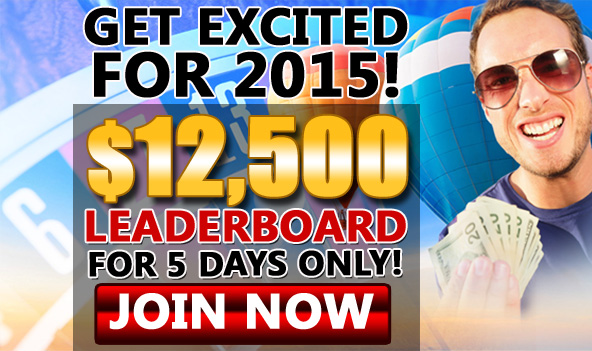 Get Excited For 2015 - Win Part Of $50 000!