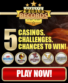 5 Casinos, 5 Challenges, 5 Chances To Win