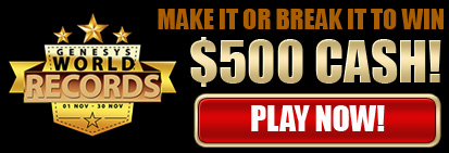 Make it or break it to win $500 Cash!